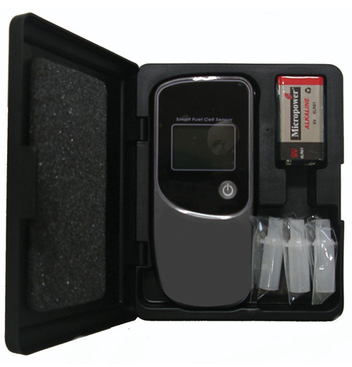 CA20 Pro Breathalyzer &  Compact Resin Case